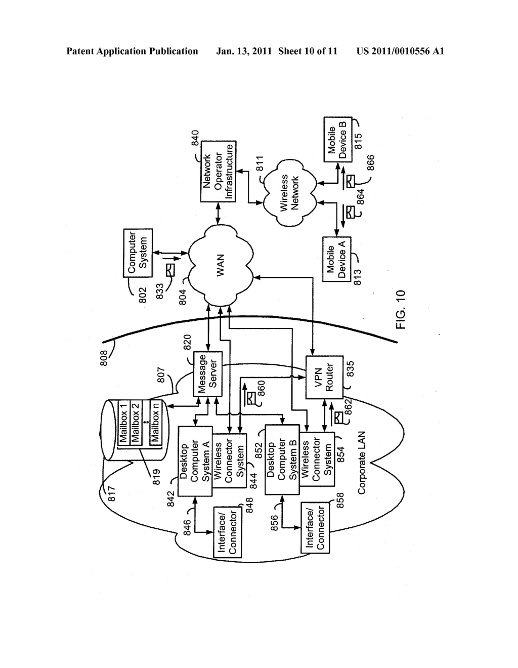 System and Method of Secure Authentication Information Distribution - diagram, schematic, and image 11