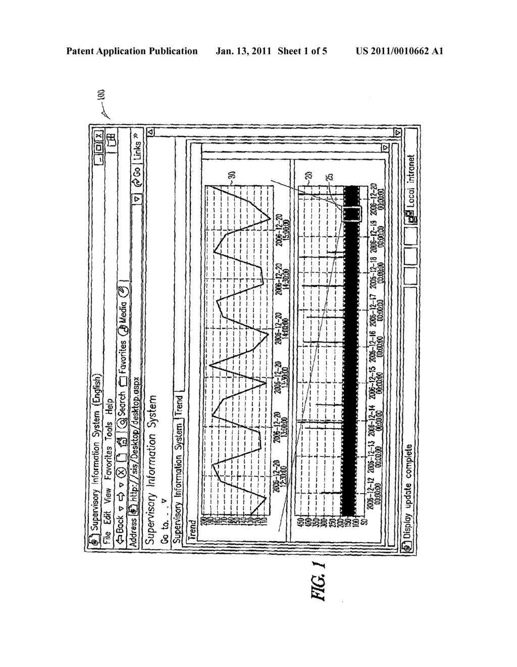 SYSTEM AND METHOD FOR VISUALIZING TREND DATA - diagram, schematic, and image 02