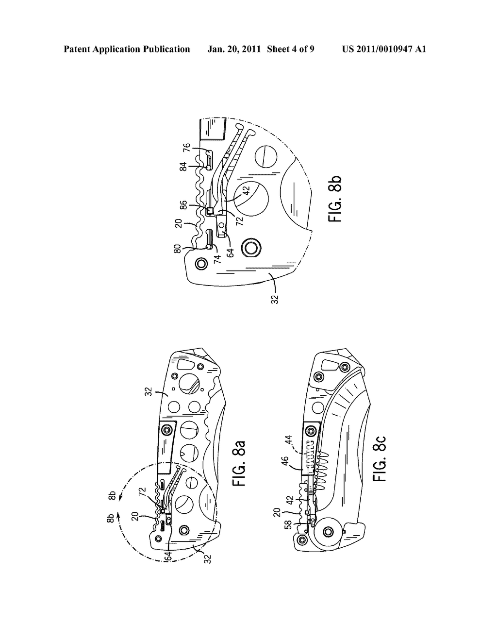 FOLDING KNIFE WITH SAFETY AND WEDGE LOCK - diagram, schematic, and image 05