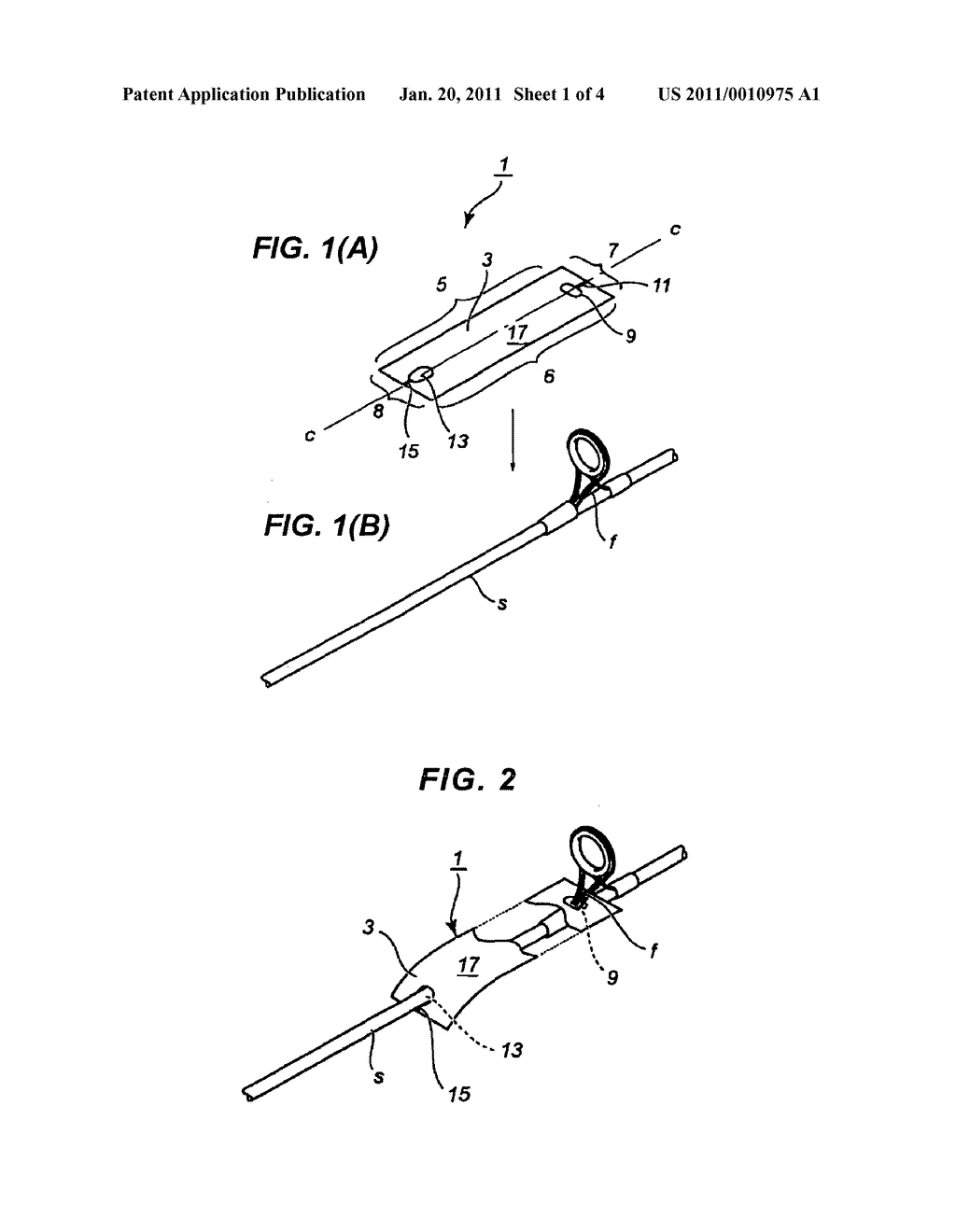Tag for fishing rod - diagram, schematic, and image 02