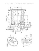 Pulse jet air cleaner system; components; and, methods diagram and image