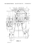 Spool holder and sewing machine provided therewith diagram and image