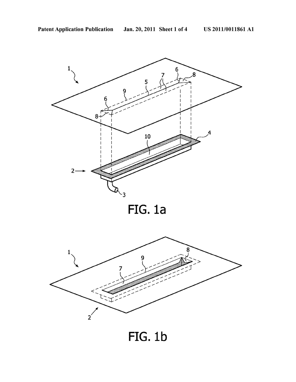 Method, Device, Material Layer and Kit of Parts for Sealing a Drain - diagram, schematic, and image 02