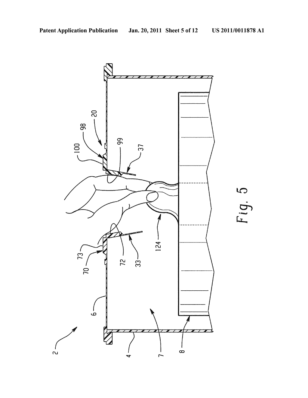 DISPENSING MECHANISM FOR FLEXIBLE SHEETS - diagram, schematic, and image 06