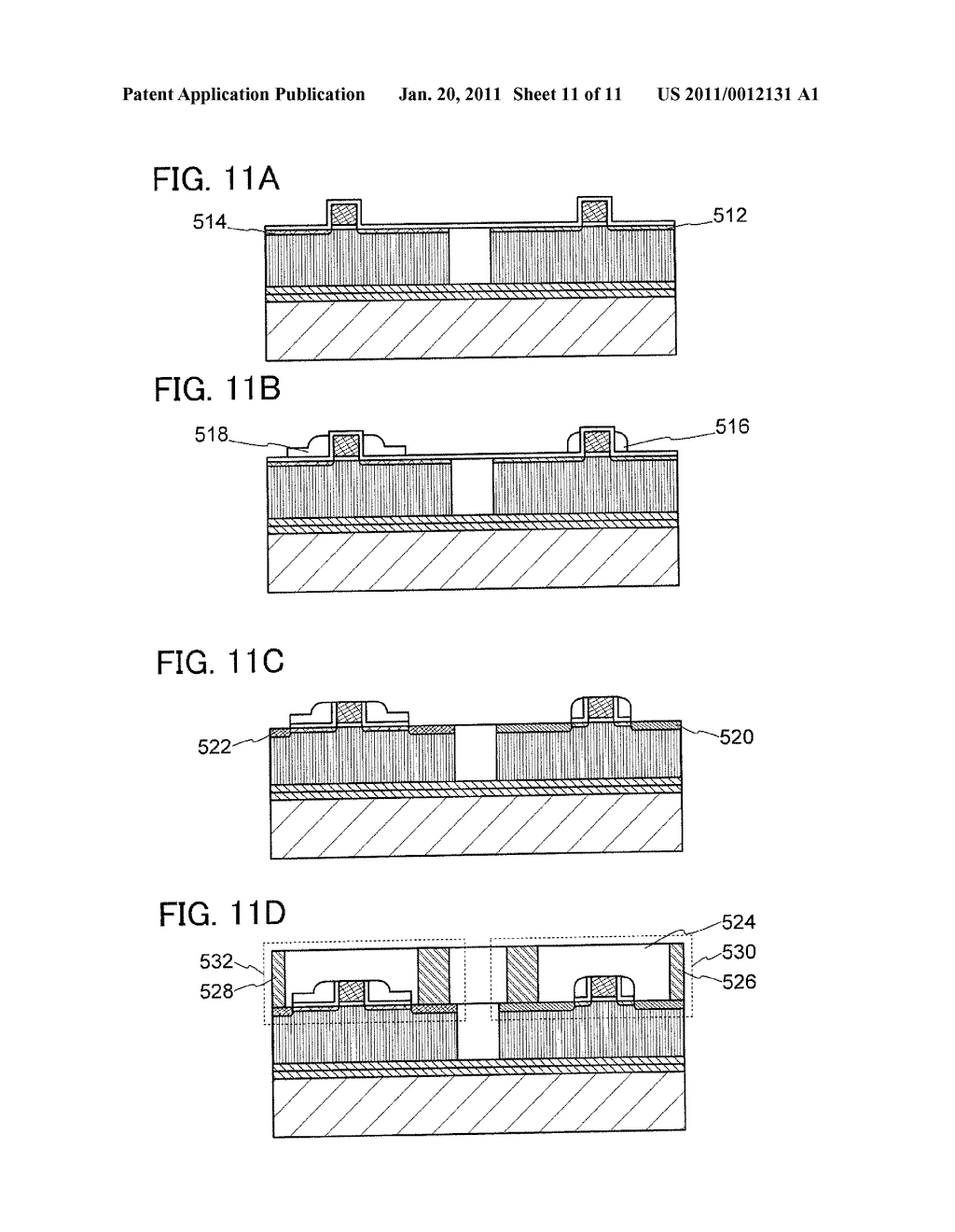 METHOD FOR MANUFACTURING SEMICONDUCTOR SUBSTRATE, AND SEMICONDUCTOR DEVICE - diagram, schematic, and image 12