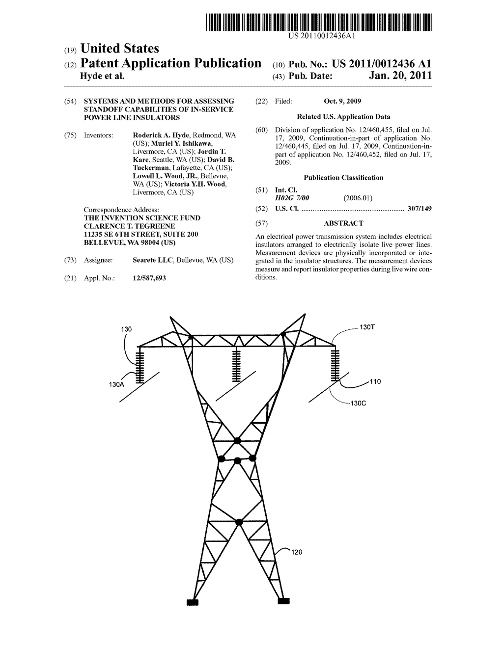 Systems and methods for assessing standoff capabilities of in-service power line insulators - diagram, schematic, and image 01