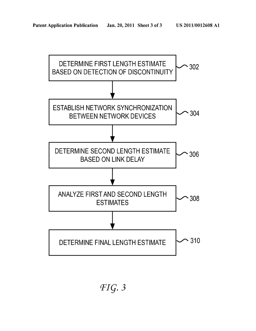 System and Method for Enhanced Accuracy in Cable Diagnostics of Cable Length - diagram, schematic, and image 04