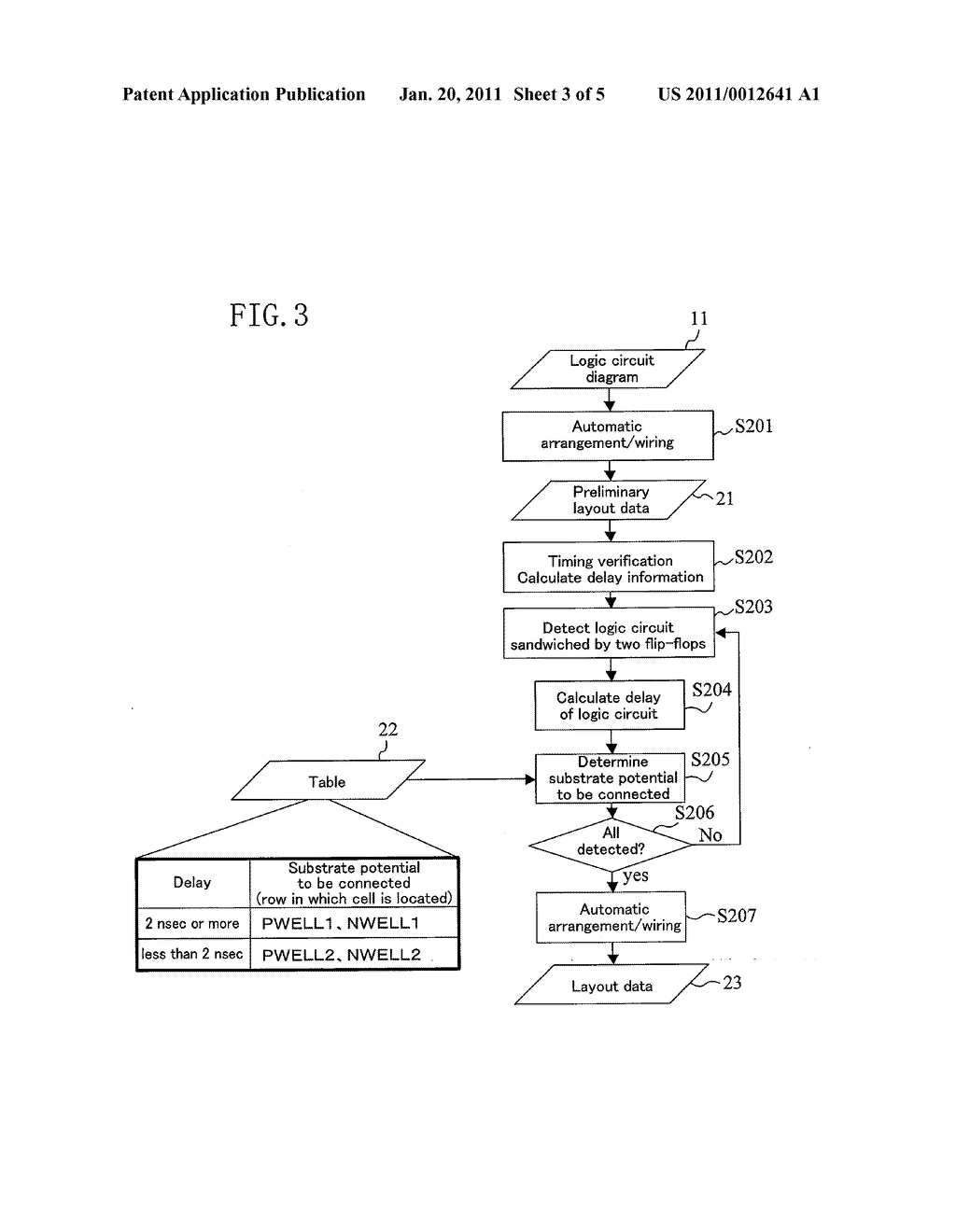CELL ARRANGEMENT METHOD FOR DESIGNING SEMICONDUCTOR INTEGRATED CIRCUIT - diagram, schematic, and image 04