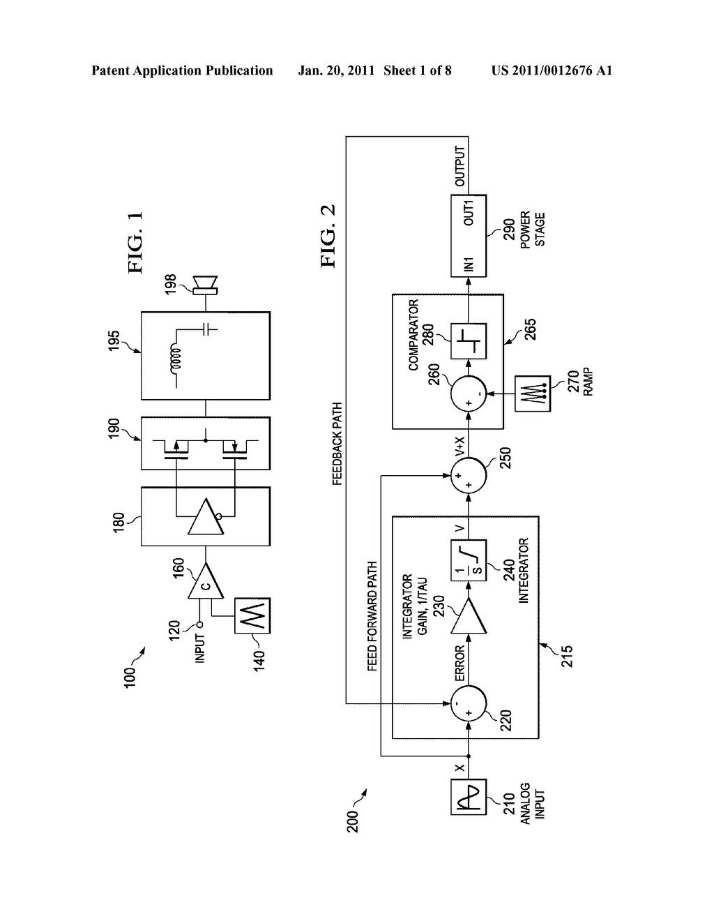 SYSTEMS AND METHODS OF REDUCED DISTORTION IN A CLASS D AMPLIFIER - diagram, schematic, and image 02