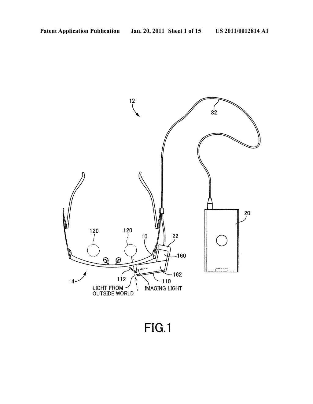 Adjustable Attachment for Attaching Head-Mounted Display to Eyeglasses-Type Frame - diagram, schematic, and image 02