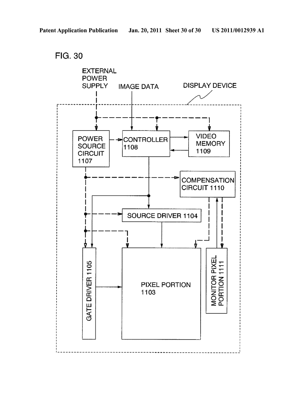 Display Device and Driving Method Thereof - diagram, schematic, and image 31