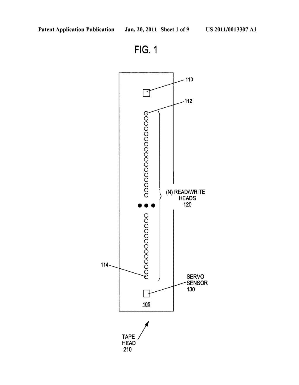 METHOD AND APPARATUS TO IDENTIFY A DATA BAND ENCODED BETWEEN TWO SERVO BANDS IN A SEQUENTIAL INFORMATION STORAGE MEDIUM - diagram, schematic, and image 02