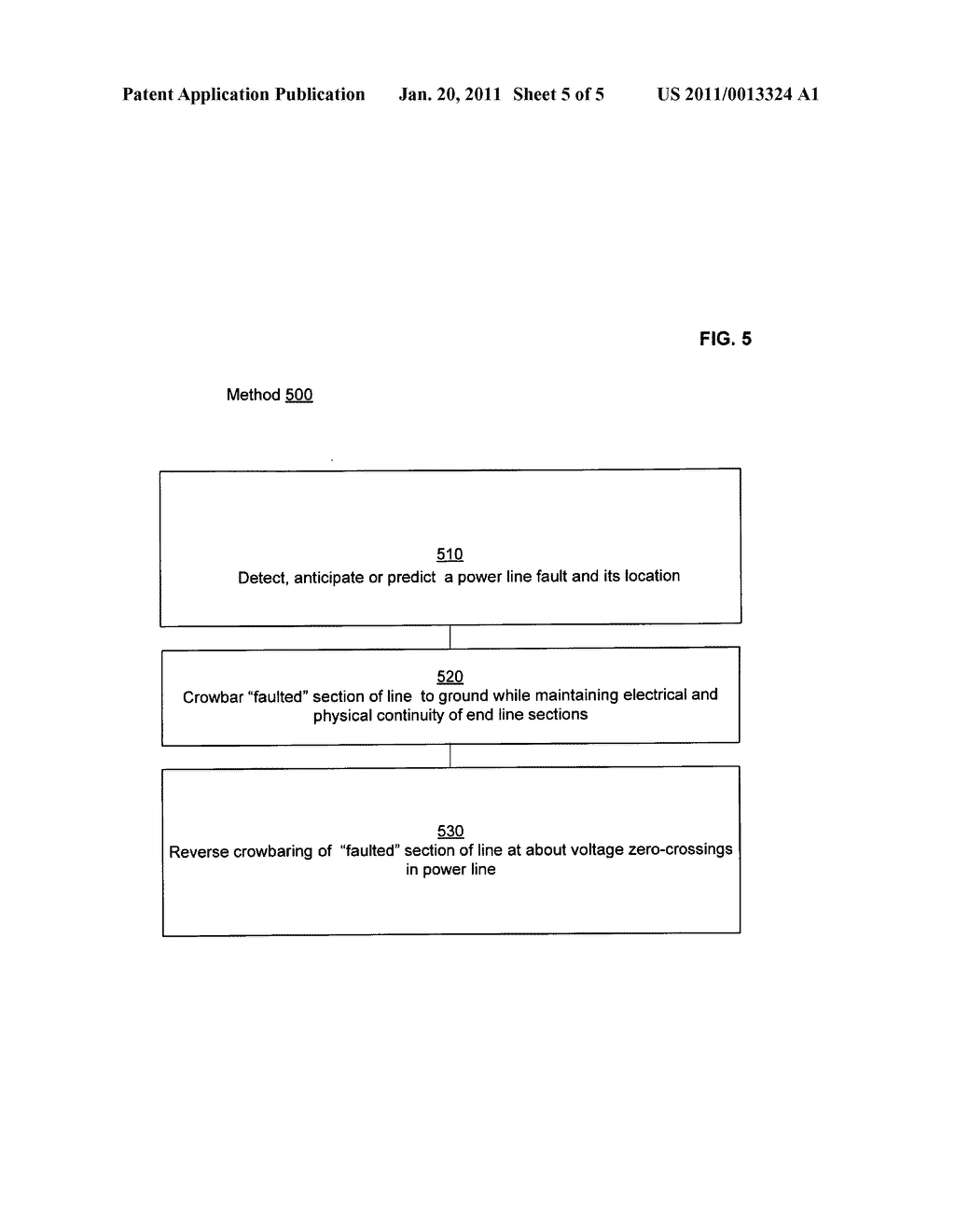 Systems and methods for grounding power line sections to clear faults - diagram, schematic, and image 06