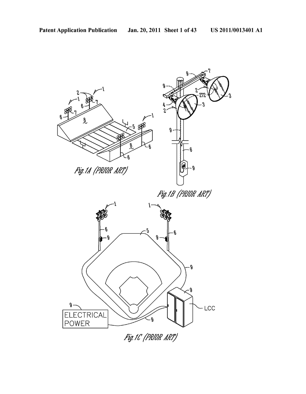 SPORTS LIGHTING FIXTURE HAVING DIE-CAST FRAME IN HIGH-REFLECTANCE MATERIAL - diagram, schematic, and image 02