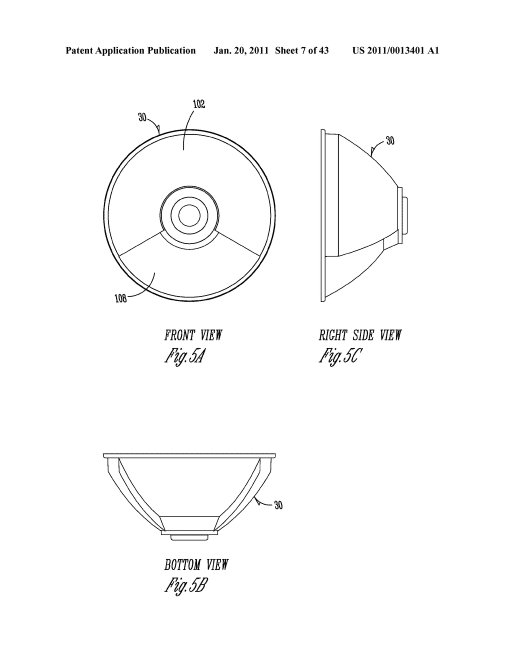 SPORTS LIGHTING FIXTURE HAVING DIE-CAST FRAME IN HIGH-REFLECTANCE MATERIAL - diagram, schematic, and image 08