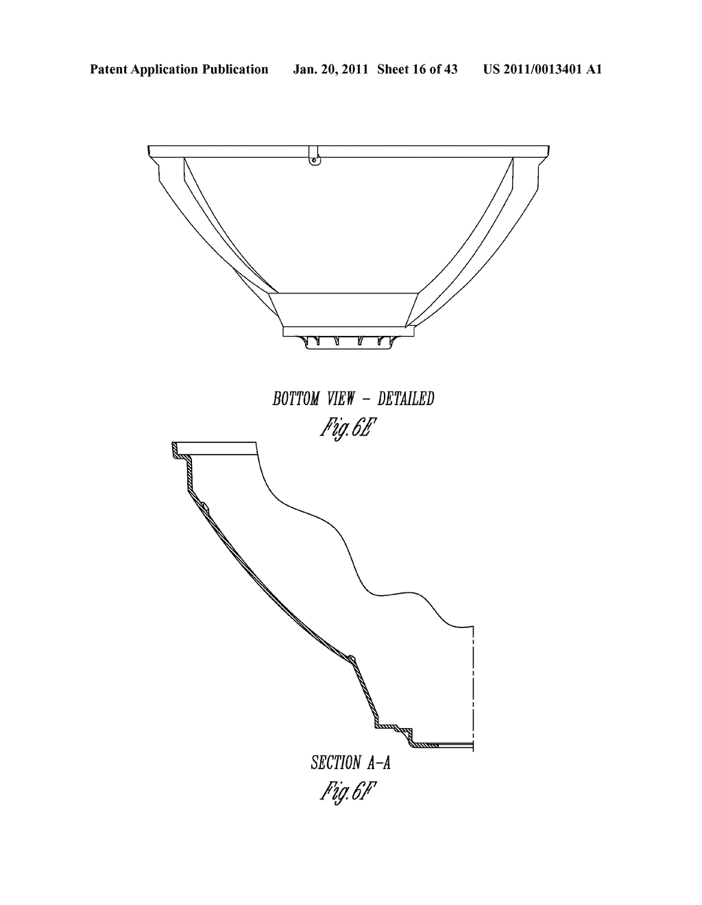SPORTS LIGHTING FIXTURE HAVING DIE-CAST FRAME IN HIGH-REFLECTANCE MATERIAL - diagram, schematic, and image 17