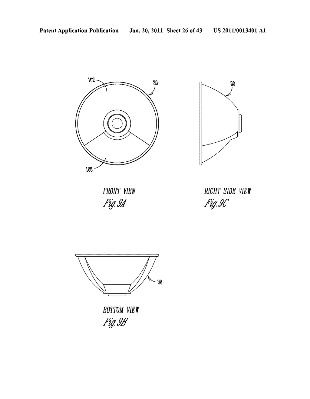 SPORTS LIGHTING FIXTURE HAVING DIE-CAST FRAME IN HIGH-REFLECTANCE MATERIAL - diagram, schematic, and image 27