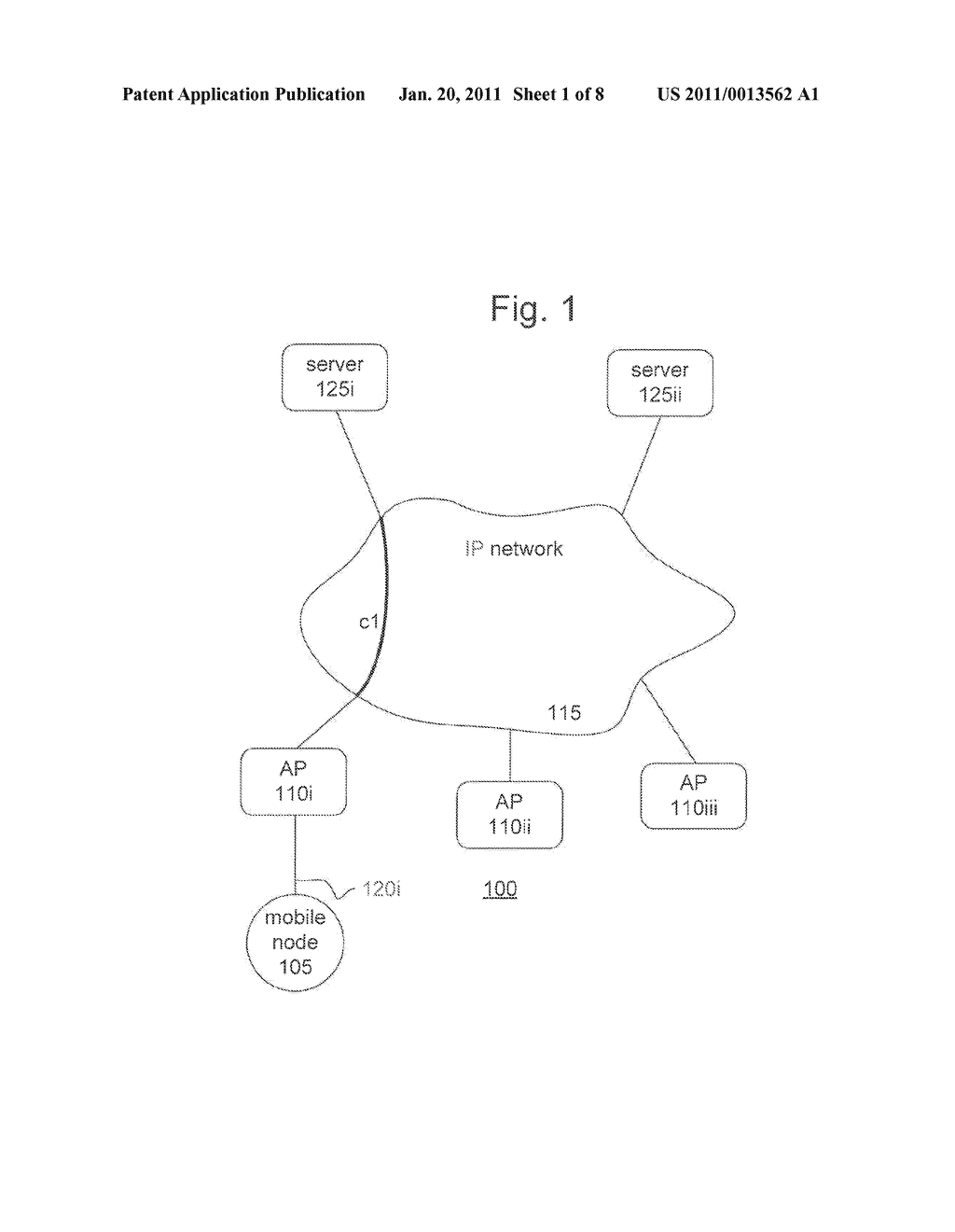 METHOD AND APPARATUS FOR PROVIDING MOBILITY TO A MOBILE NODE - diagram, schematic, and image 02