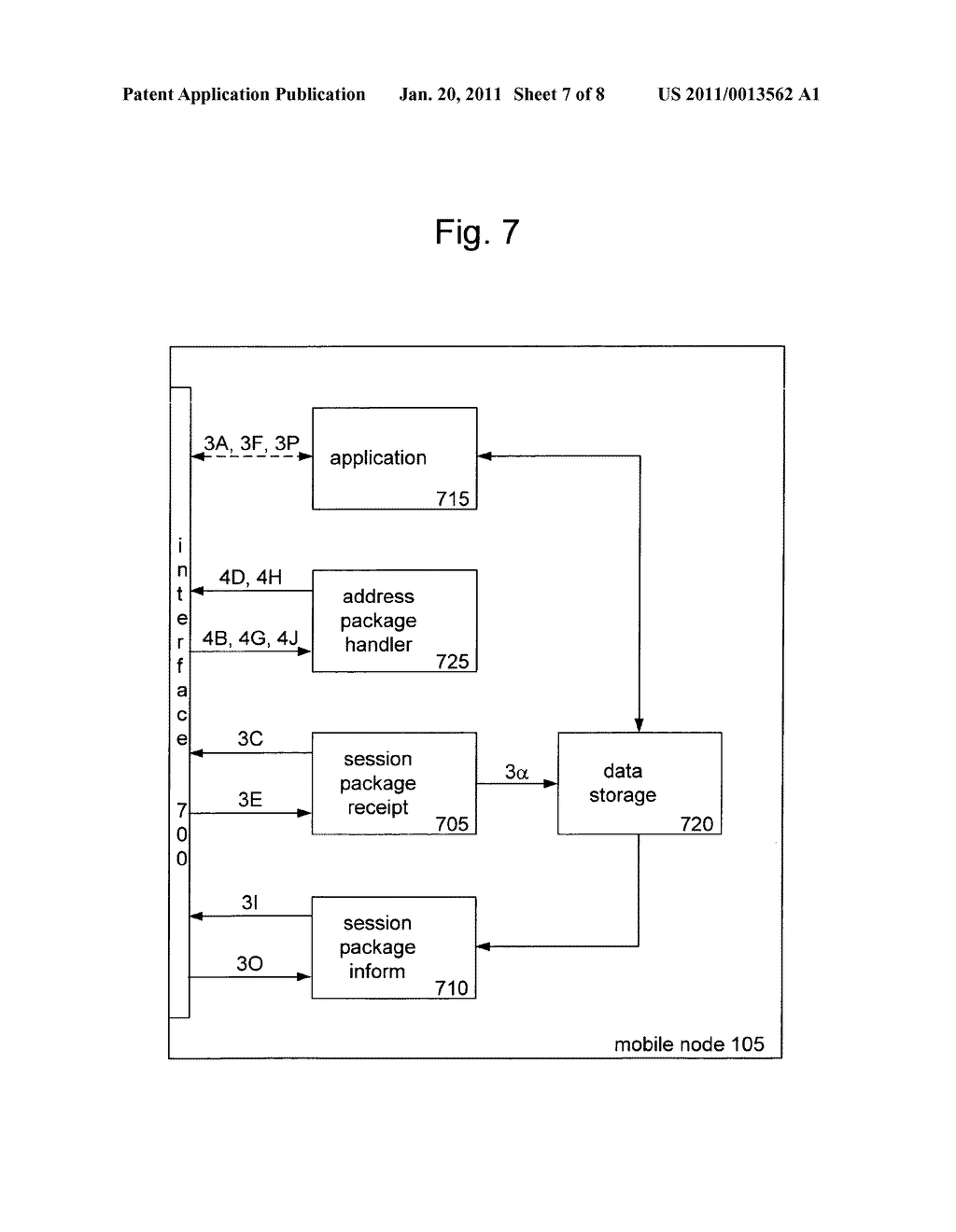 METHOD AND APPARATUS FOR PROVIDING MOBILITY TO A MOBILE NODE - diagram, schematic, and image 08