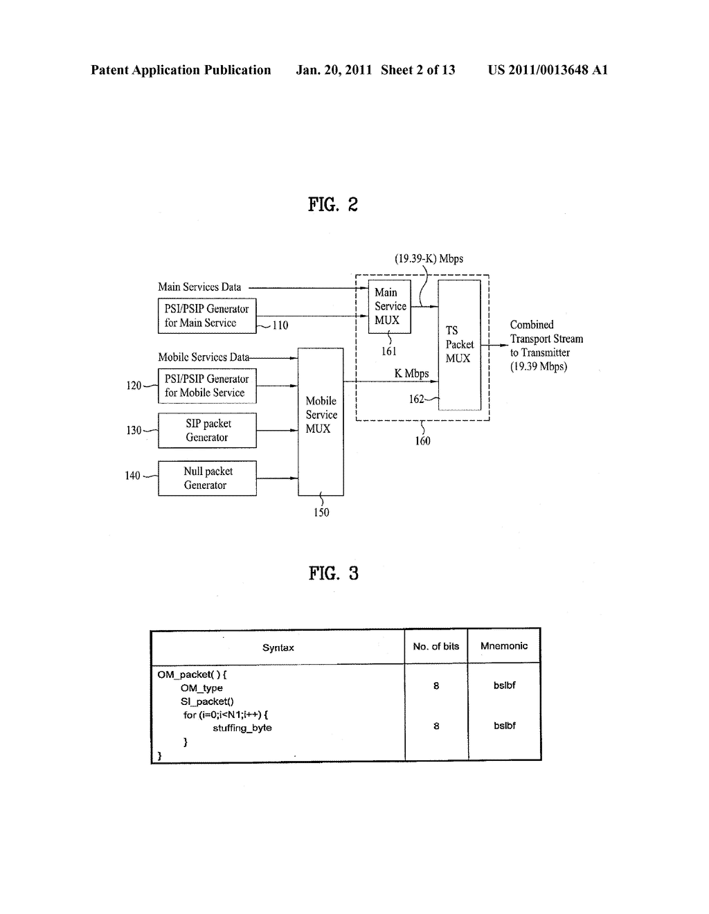 DIGITAL BROADCASTING SYSTEM AND METHOD OF PROCESSING DATA - diagram, schematic, and image 03