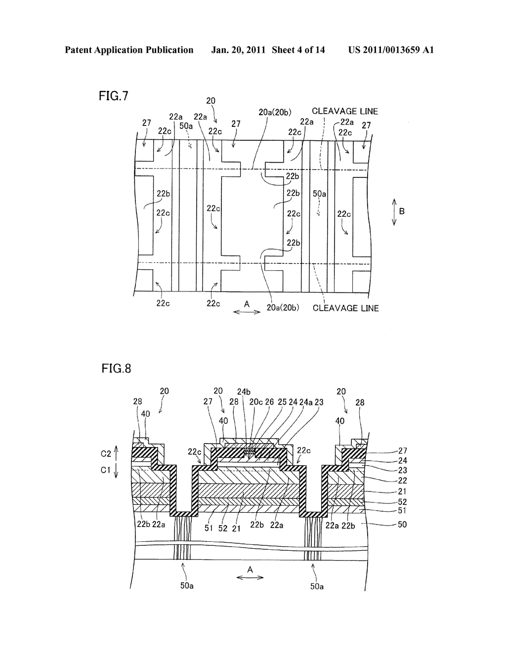 SEMICONDUCTOR LASER DEVICE AND METHOD OF MANUFACTURING THE SAME - diagram, schematic, and image 05