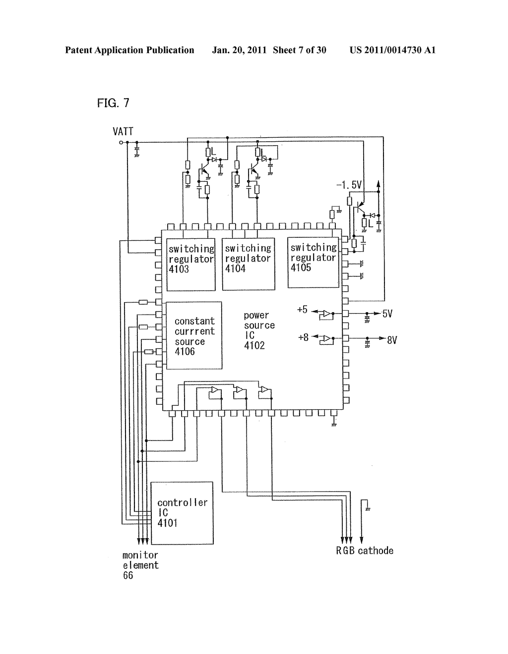 Method for Manufacturing Light Emitting Device - diagram, schematic, and image 08