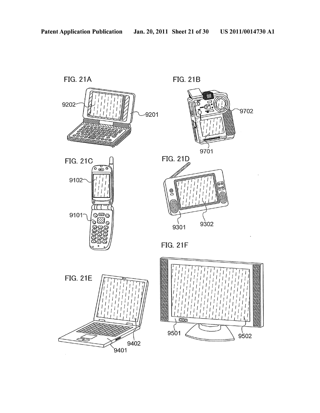Method for Manufacturing Light Emitting Device - diagram, schematic, and image 22