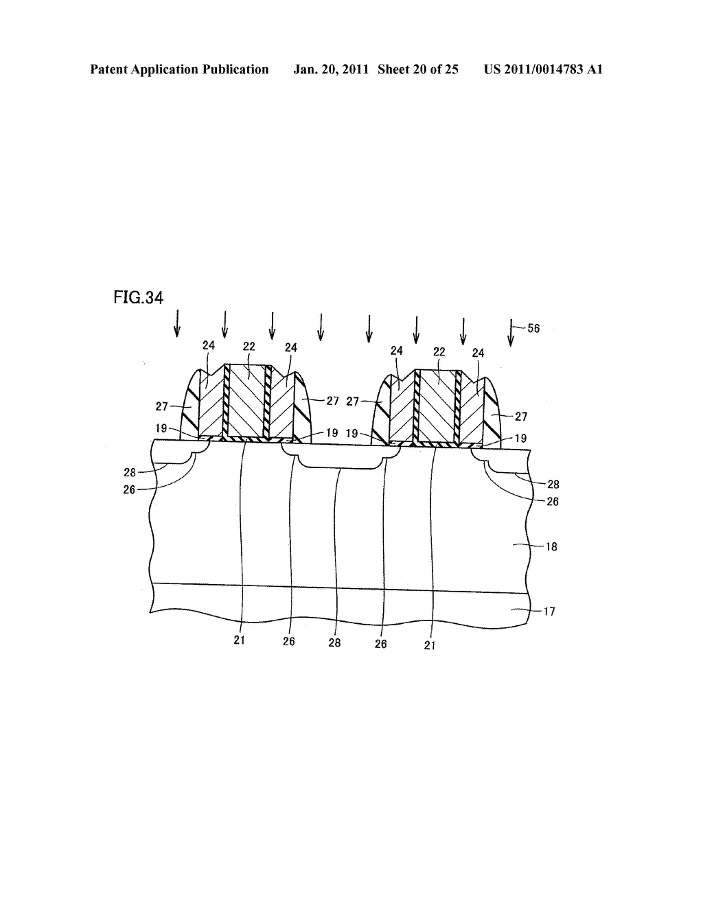 SEMICONDUCTOR DEVICE HAVING ELECTRODE AND MANUFACTURING METHOD THEREOF - diagram, schematic, and image 21