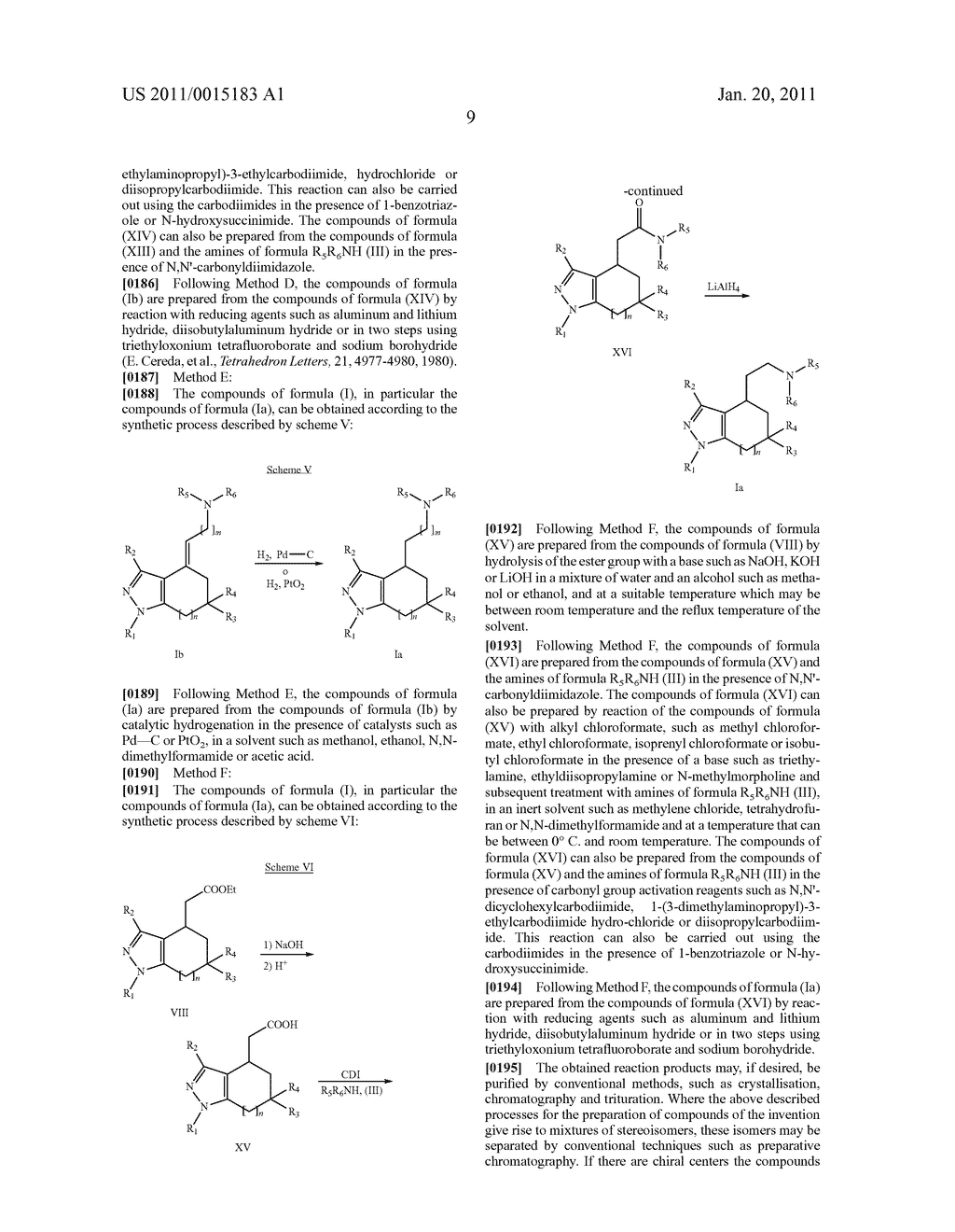 SUBSTITUTED PYRAZOLE SIGMA RECEPTOR ANTAGONISTS - diagram, schematic, and image 12