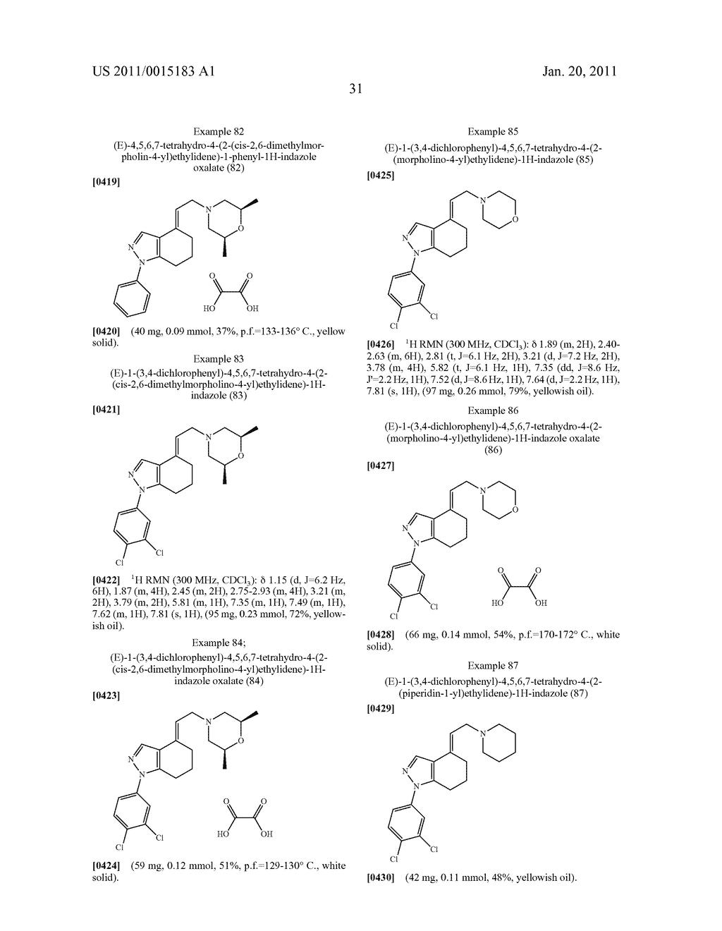 SUBSTITUTED PYRAZOLE SIGMA RECEPTOR ANTAGONISTS - diagram, schematic, and image 34