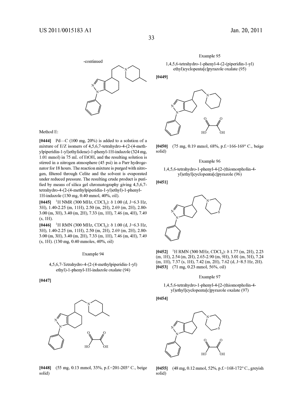 SUBSTITUTED PYRAZOLE SIGMA RECEPTOR ANTAGONISTS - diagram, schematic, and image 36