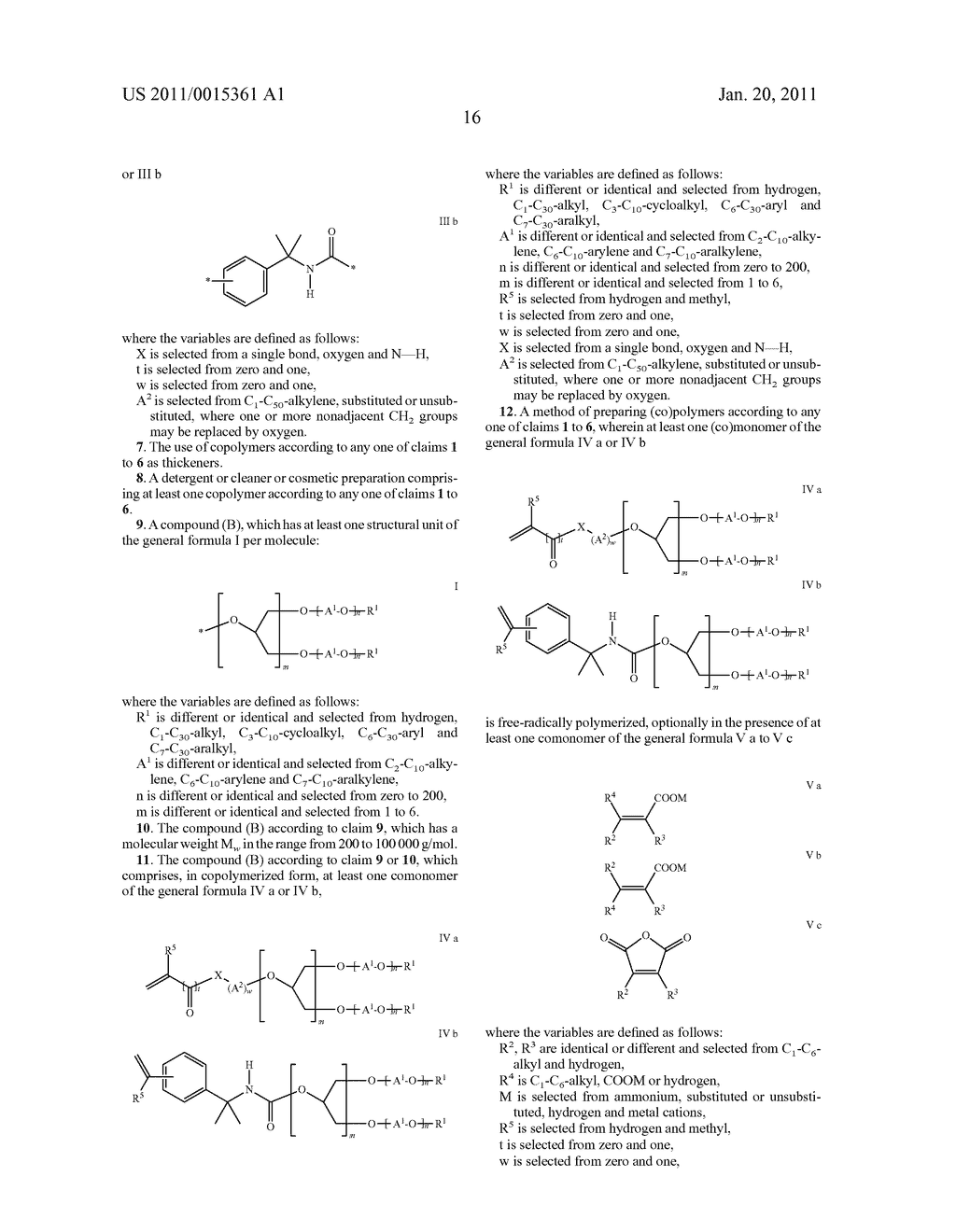 COPOLYMERS, THEIR USE AS THICKENERS, AND METHODS FOR THEIR PREPARATION - diagram, schematic, and image 17