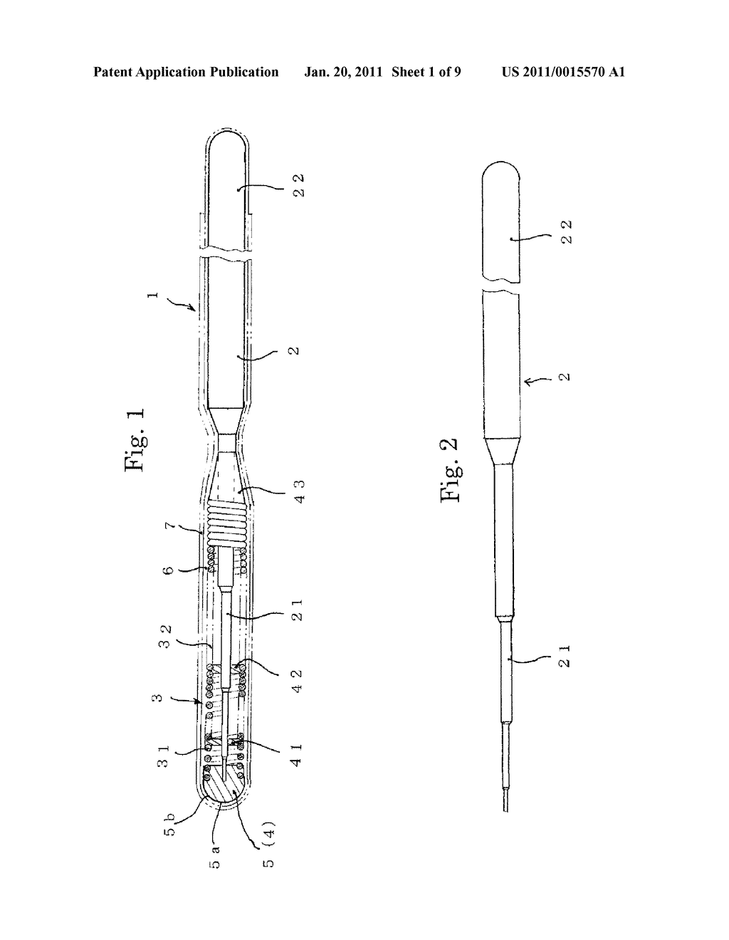 MEDICAL GUIDE WIRE, METHOD OF MAKING THE SAME , AND ASSEMBLY OF BALLOON CATHETER AND GUIDING CATHETER COMBINED WITH THE MEDICAL GUIDE WIRE - diagram, schematic, and image 02
