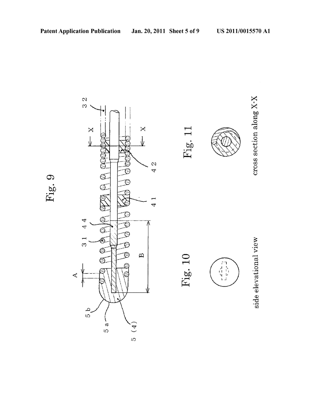 MEDICAL GUIDE WIRE, METHOD OF MAKING THE SAME , AND ASSEMBLY OF BALLOON CATHETER AND GUIDING CATHETER COMBINED WITH THE MEDICAL GUIDE WIRE - diagram, schematic, and image 06