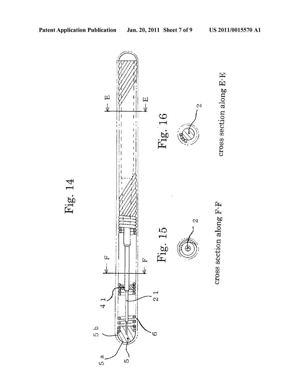 MEDICAL GUIDE WIRE, METHOD OF MAKING THE SAME , AND ASSEMBLY OF BALLOON CATHETER AND GUIDING CATHETER COMBINED WITH THE MEDICAL GUIDE WIRE - diagram, schematic, and image 08