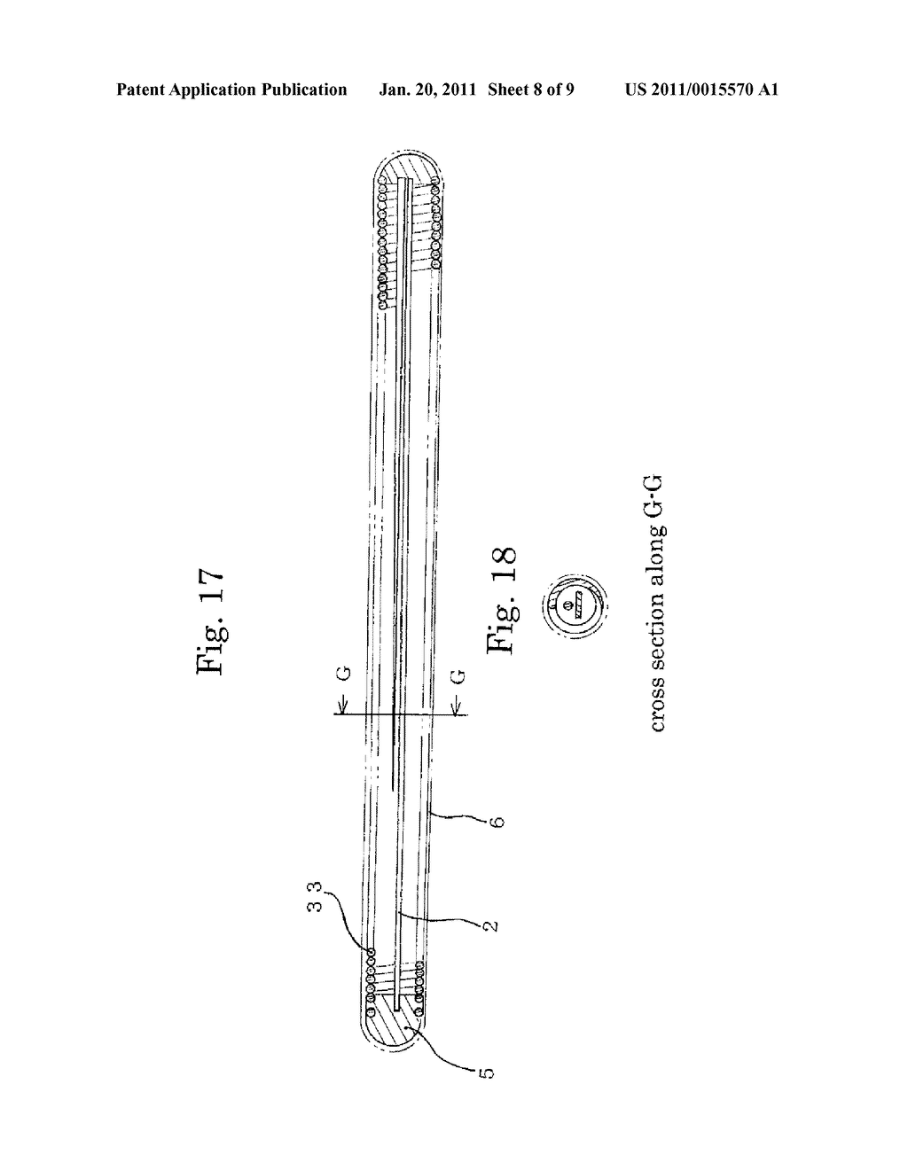 MEDICAL GUIDE WIRE, METHOD OF MAKING THE SAME , AND ASSEMBLY OF BALLOON CATHETER AND GUIDING CATHETER COMBINED WITH THE MEDICAL GUIDE WIRE - diagram, schematic, and image 09