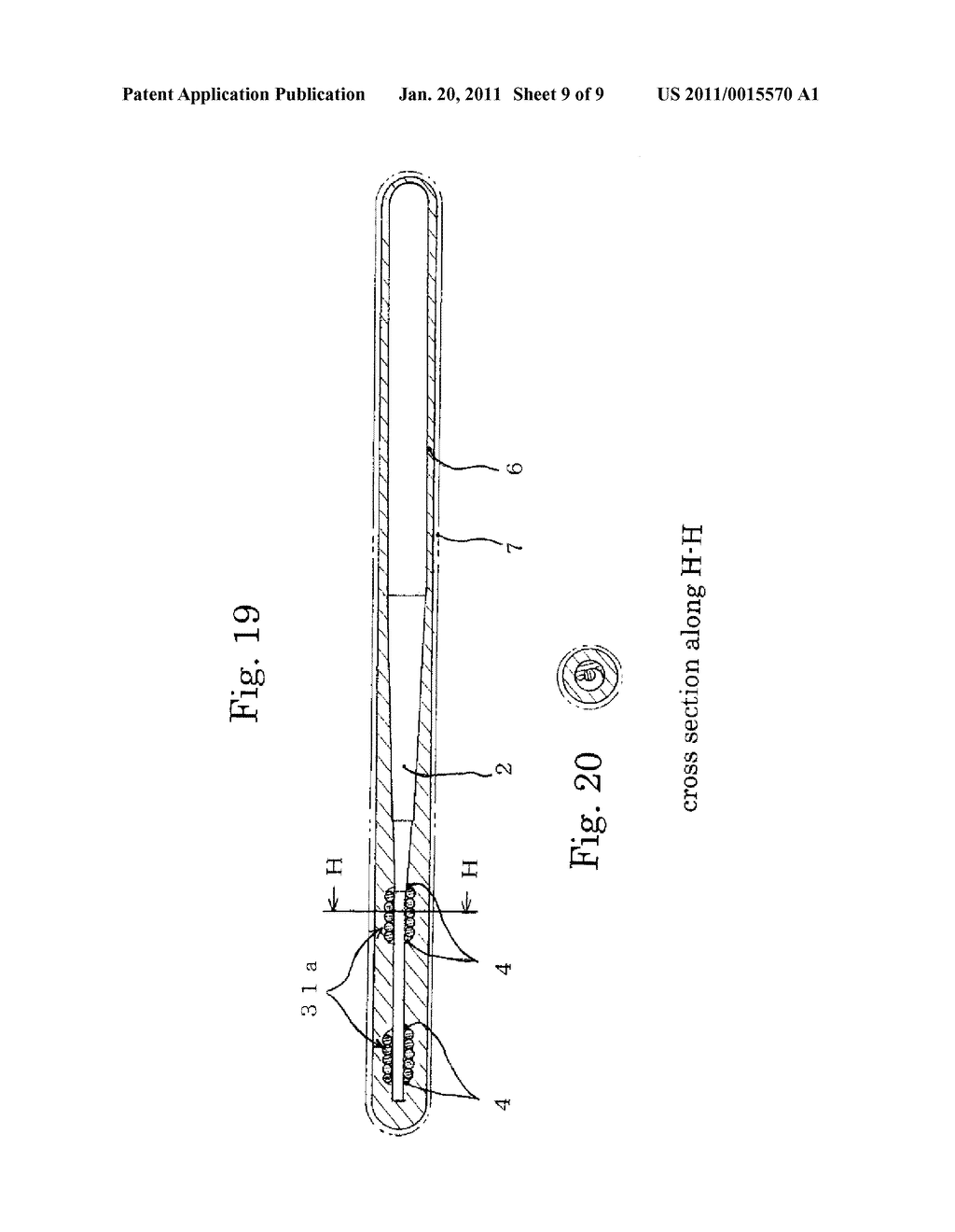 MEDICAL GUIDE WIRE, METHOD OF MAKING THE SAME , AND ASSEMBLY OF BALLOON CATHETER AND GUIDING CATHETER COMBINED WITH THE MEDICAL GUIDE WIRE - diagram, schematic, and image 10