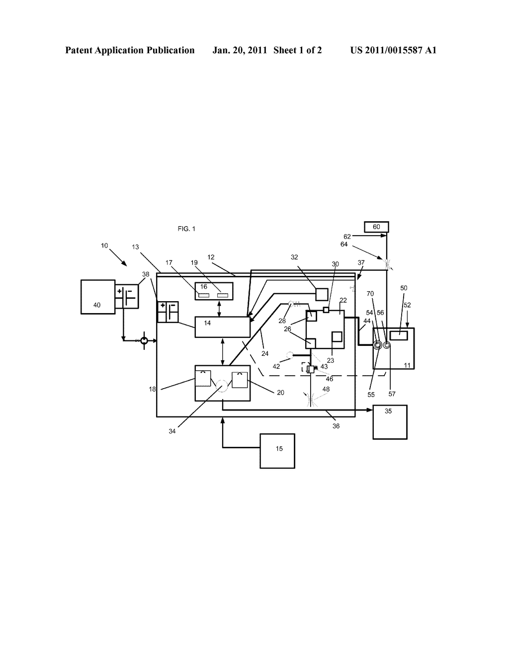 Irrigation Device and Method Using Same - diagram, schematic, and image 02