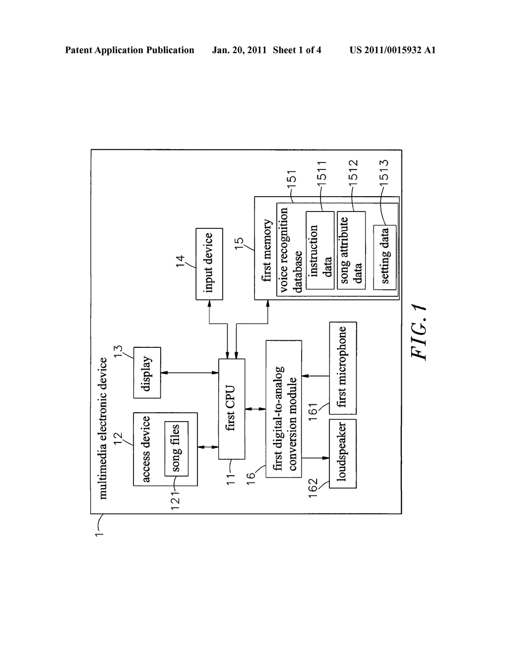 METHOD FOR SONG SEARCHING BY VOICE - diagram, schematic, and image 02
