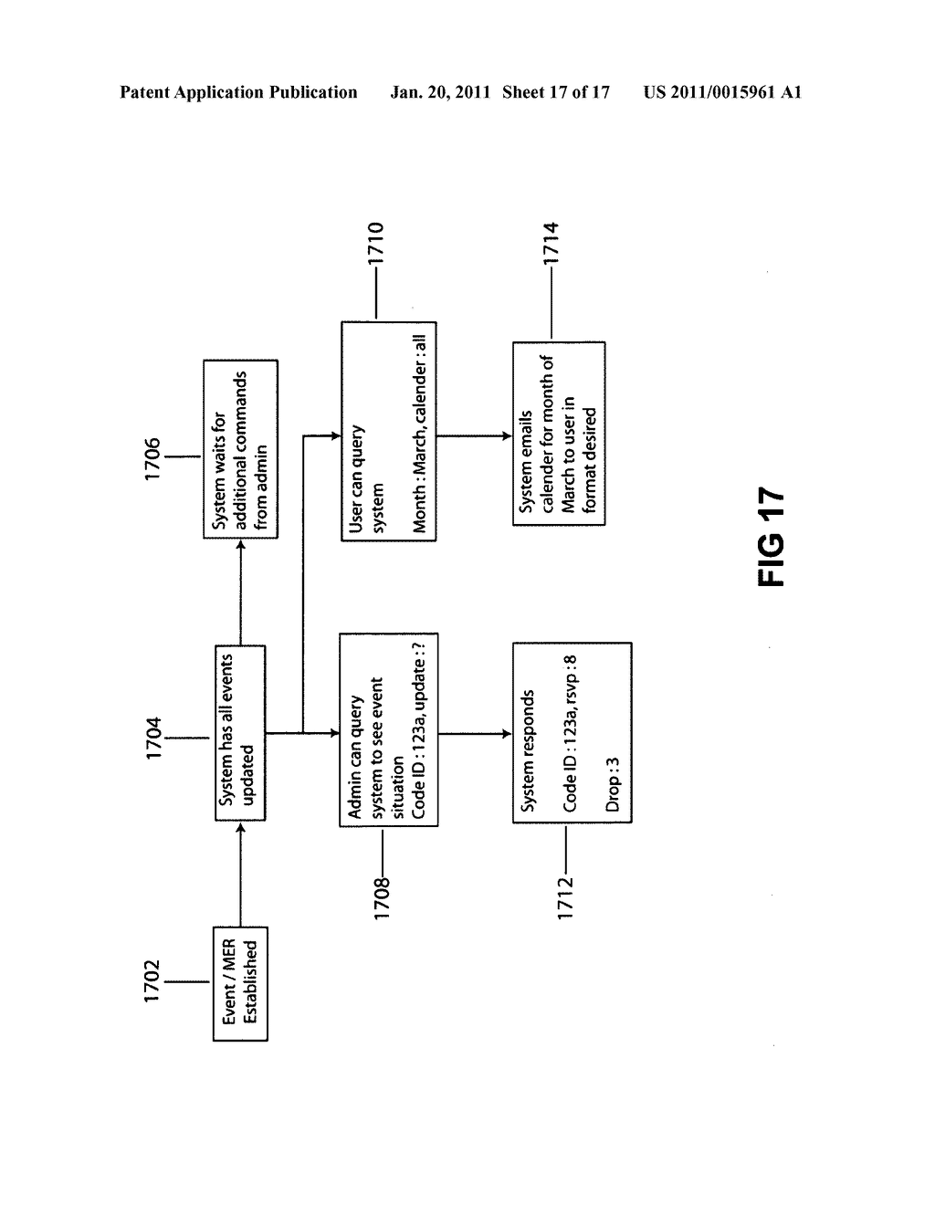 Method and system for an event scheduler - diagram, schematic, and image 18