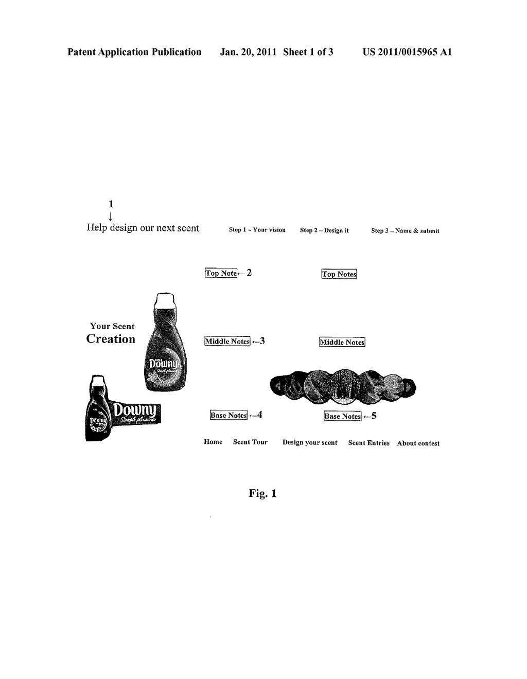 Products having a scent name selected by consumers - diagram, schematic, and image 02