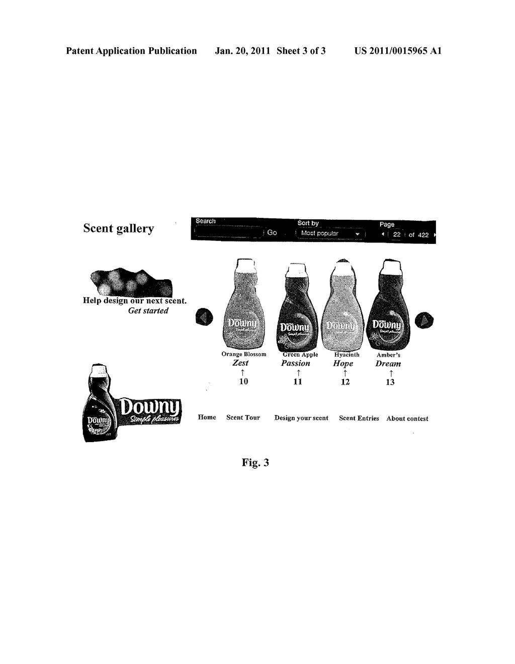 Products having a scent name selected by consumers - diagram, schematic, and image 04