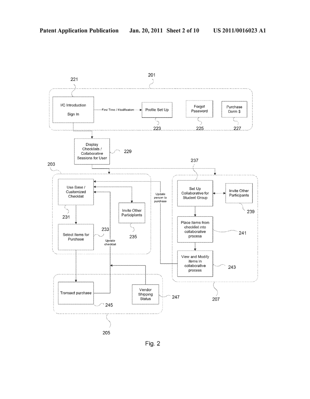 System and Method for Interactive Shopping - diagram, schematic, and image 03