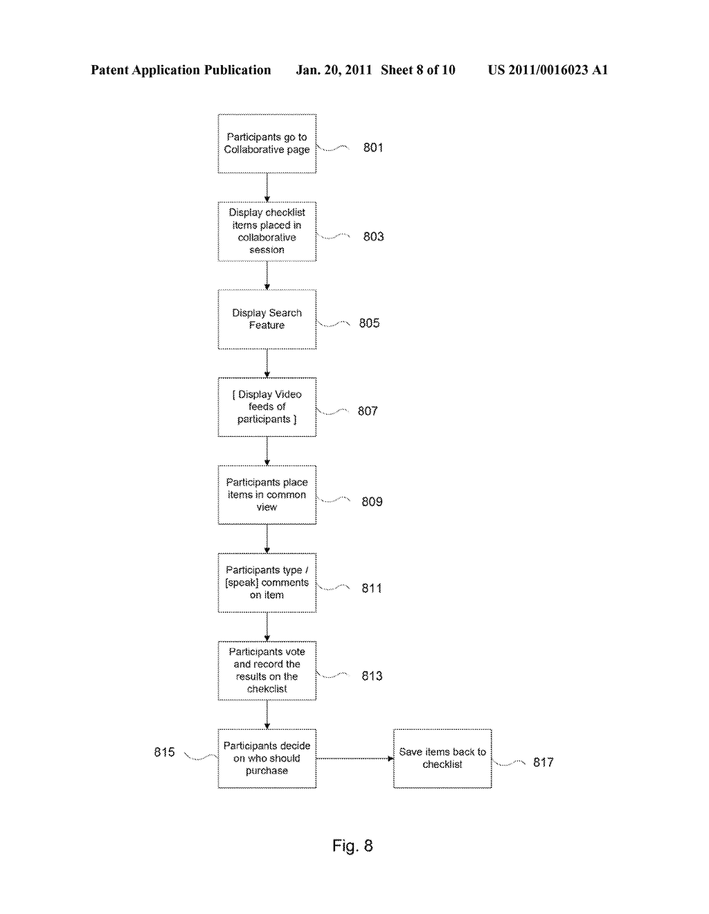 System and Method for Interactive Shopping - diagram, schematic, and image 09
