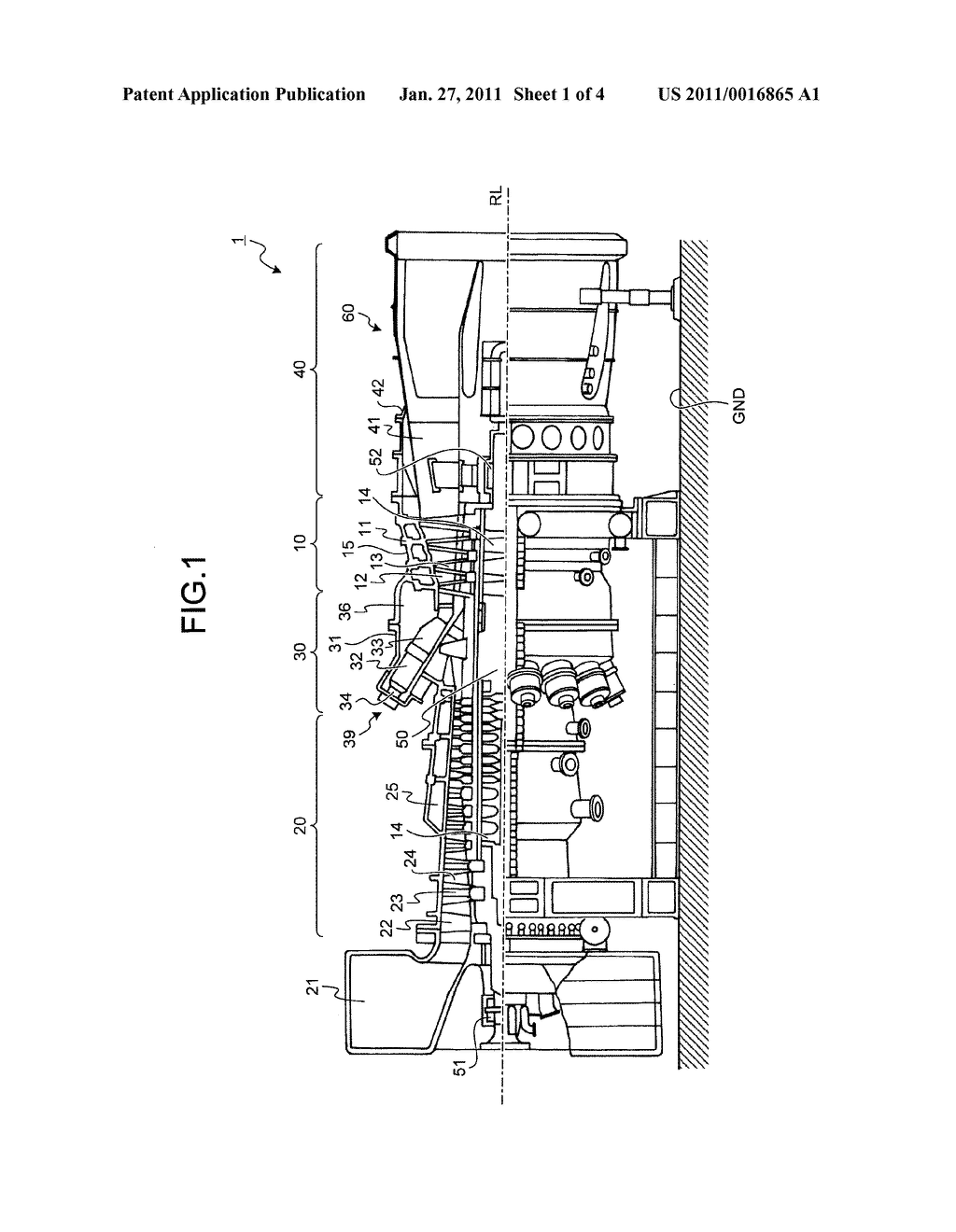 GAS TURBINE AND METHOD OF FORMING COMBUSTOR INSERTION HOLE OF GAS TURBINE - diagram, schematic, and image 02