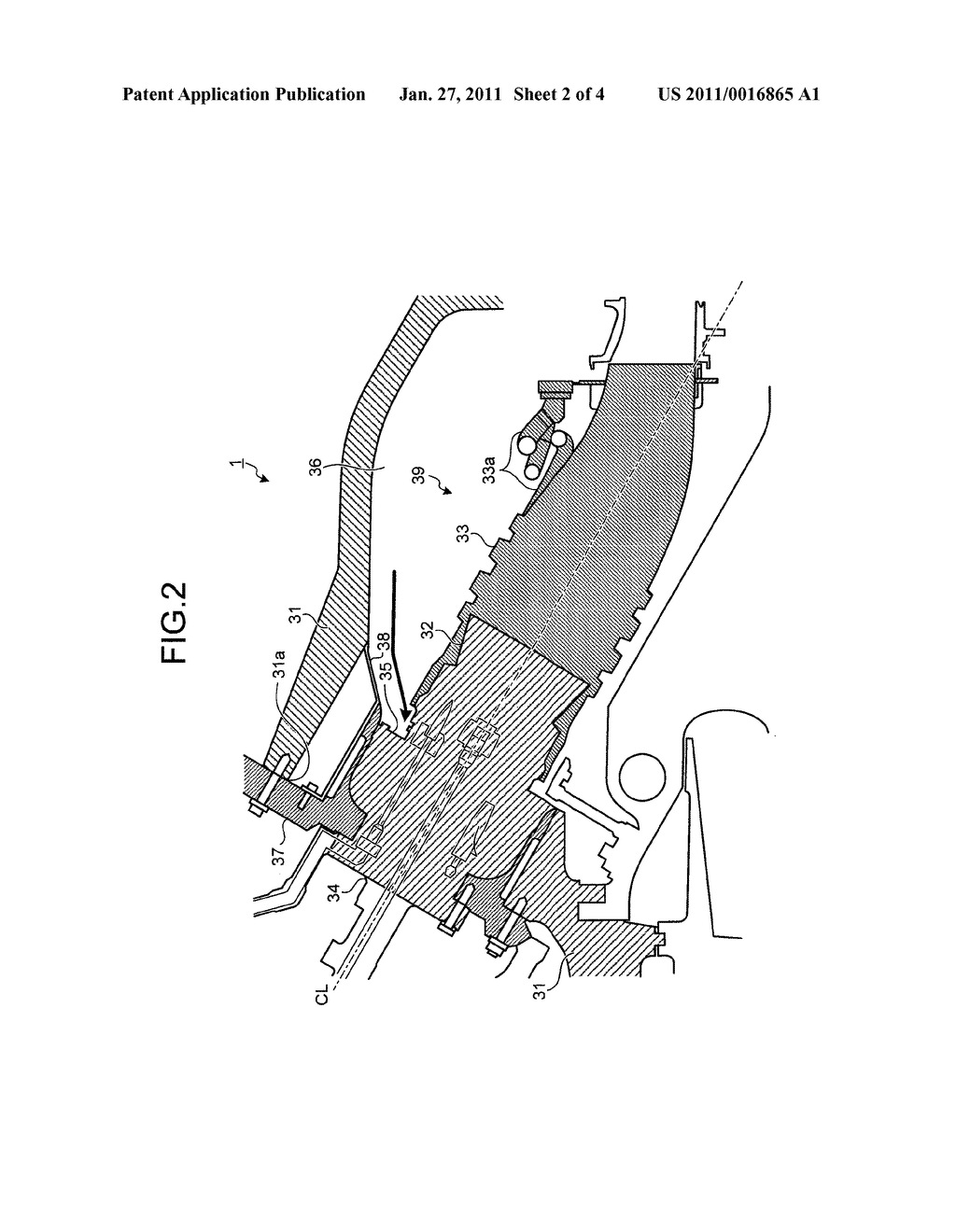 GAS TURBINE AND METHOD OF FORMING COMBUSTOR INSERTION HOLE OF GAS TURBINE - diagram, schematic, and image 03