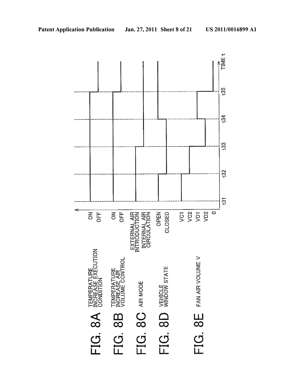 TEMPERATURE CONTROL APPARATUS FOR IN-VEHICLE ELECTRIC STORAGE DEVICE - diagram, schematic, and image 09