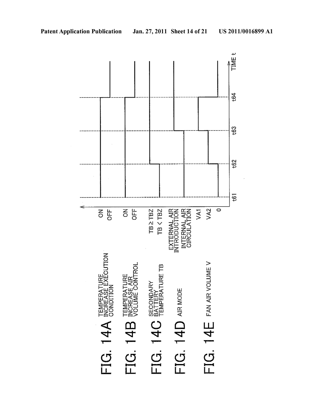TEMPERATURE CONTROL APPARATUS FOR IN-VEHICLE ELECTRIC STORAGE DEVICE - diagram, schematic, and image 15
