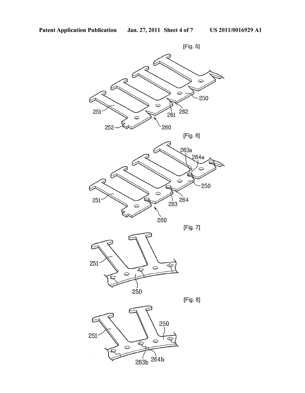 Stator of motor and washing apparatus having the same - diagram, schematic, and image 05