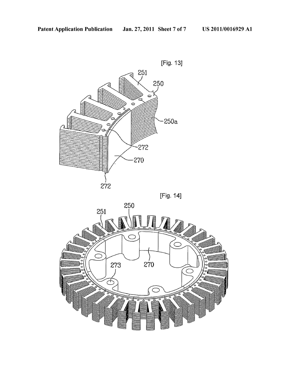 Stator of motor and washing apparatus having the same - diagram, schematic, and image 08